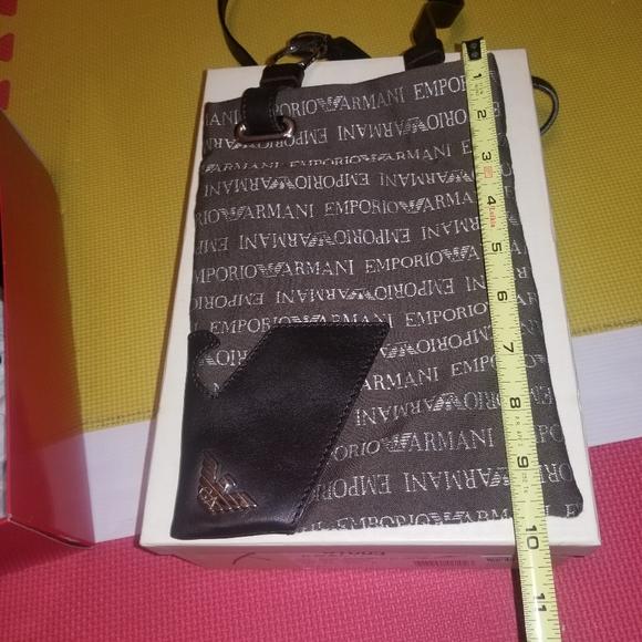 Emporio Armani Handbags - Emporio Armani Brown Crossbody bag
